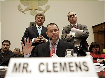 Roger Clemes at Congressional Hearing